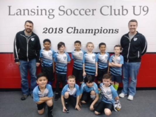 2018 U9 Indoor Champions